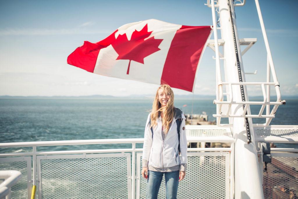 L'ouest du Canada direction Vancouver Island