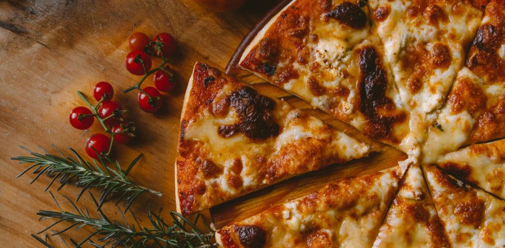 une pizza pour être plus heureux dans notre vie