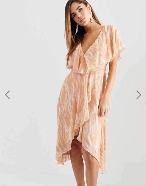 robe avec effet motif animal