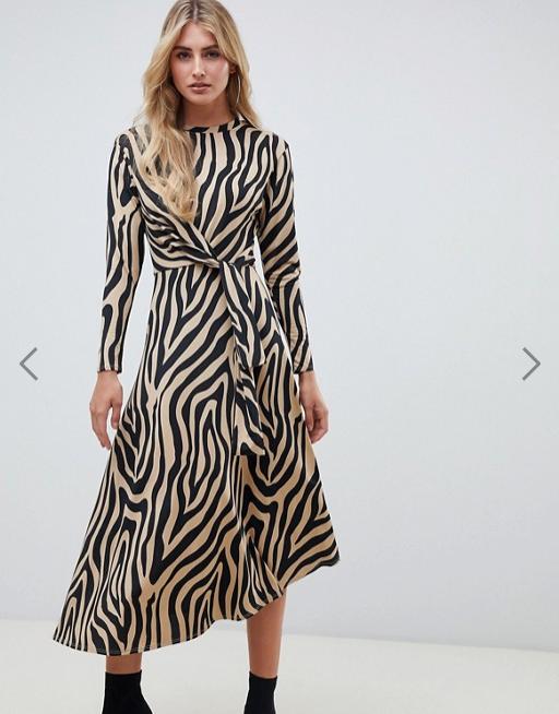 robe motif animal