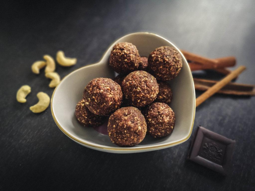 Bouchées chocolat cannelle