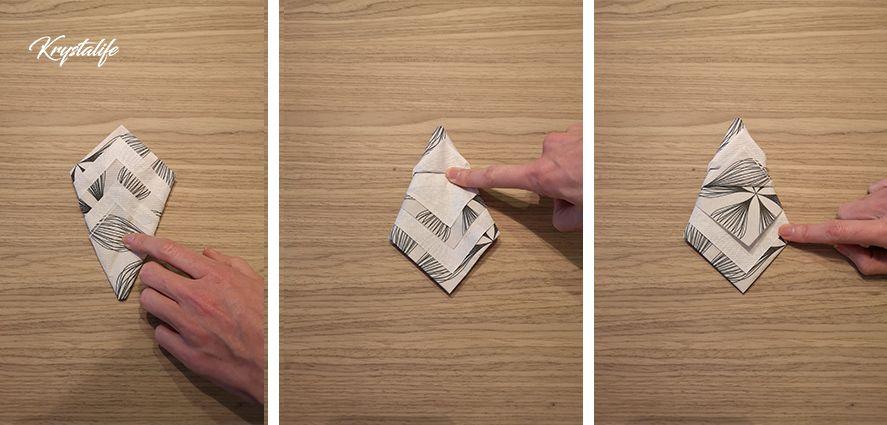Folding of napkins