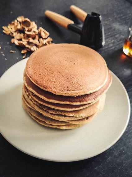 Pancakes sains, sans sucre, à la banane