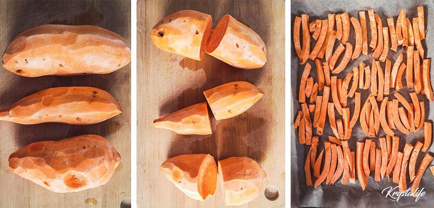 Sweet potato fries recipie