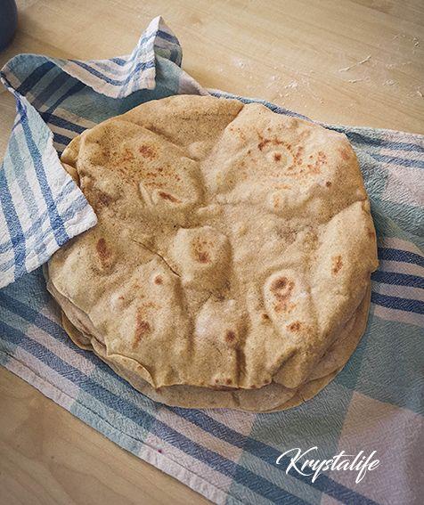 Pita bread to garnish