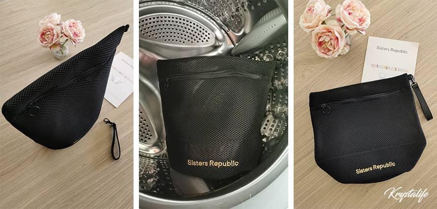 J'ai testé la pochette Sisters Republic, un rangement puis un filet idéal pour les culottes de règles.