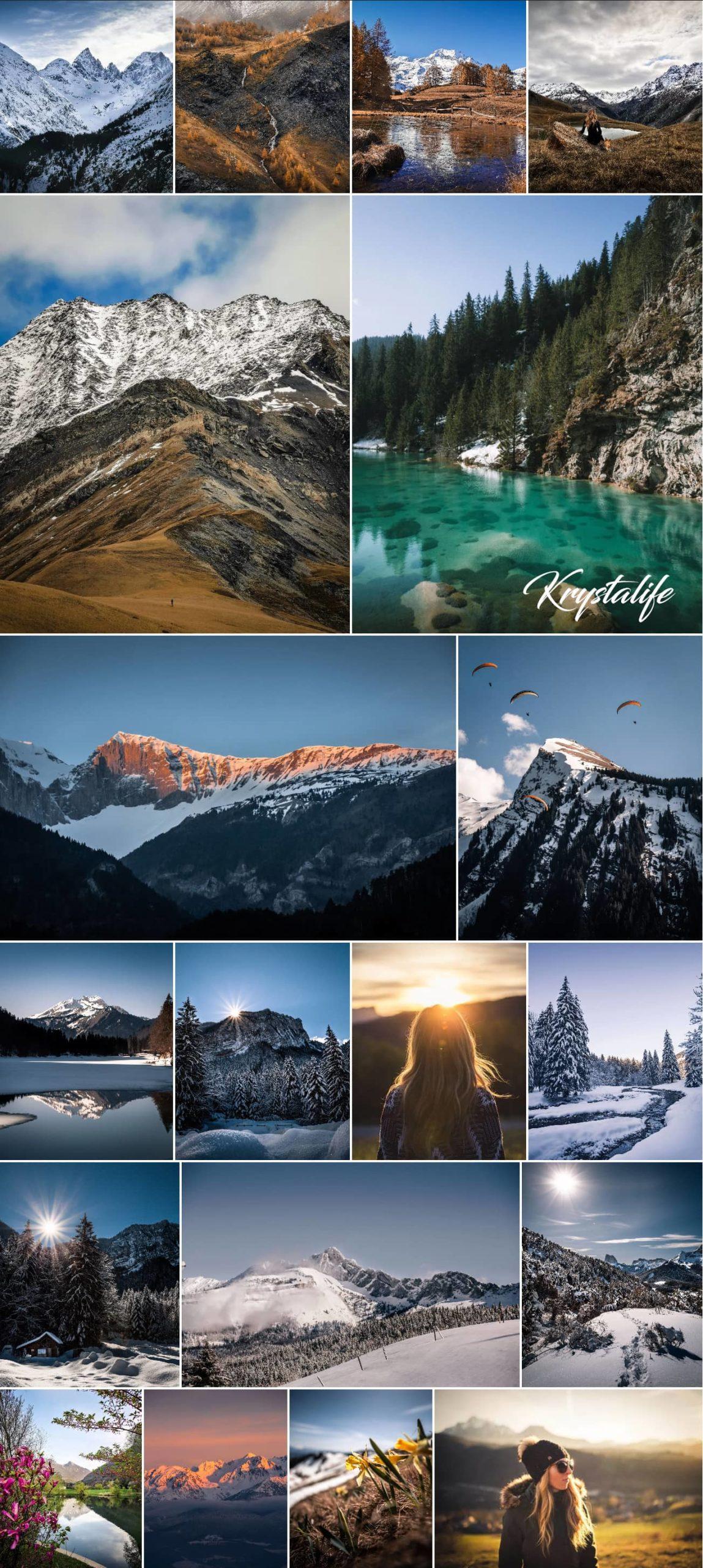 Un aperçu de mes photographies