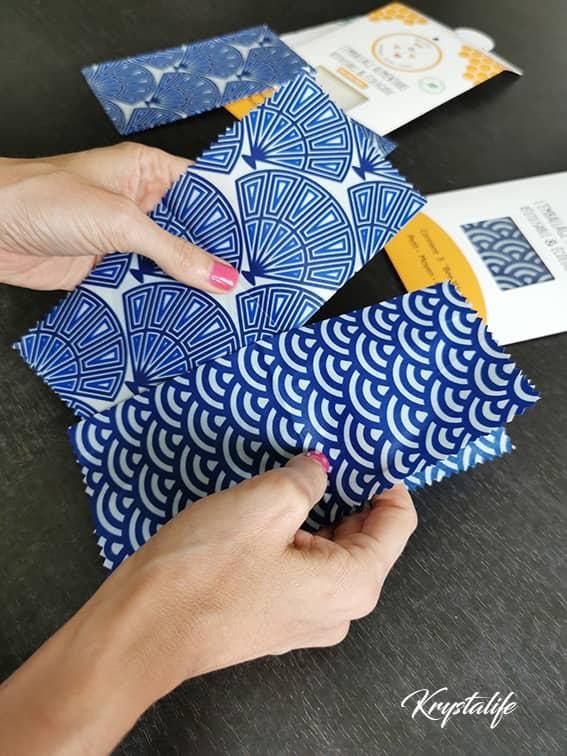 J'ai testé les Bee Wrap, ces emballages alimentaires écologiques et réutilisables.